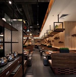 """""""鱼仓""""海鲜主题餐厅设计案例(杭州)"""